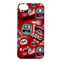 Agghh Pattern Apple iPhone 5S/ SE Hardshell Case