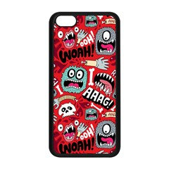 Agghh Pattern Apple iPhone 5C Seamless Case (Black)