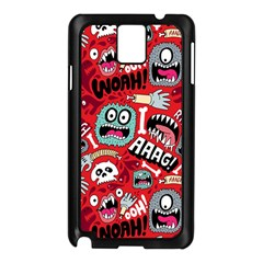 Agghh Pattern Samsung Galaxy Note 3 N9005 Case (Black)