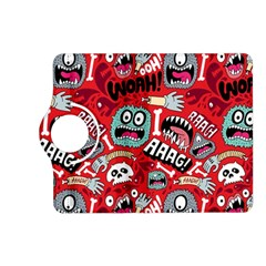 Agghh Pattern Kindle Fire HD (2013) Flip 360 Case