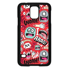 Agghh Pattern Samsung Galaxy S5 Case (Black)