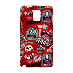 Agghh Pattern Samsung Galaxy Note 4 Hardshell Case