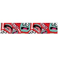 Agghh Pattern Flano Scarf (Large)