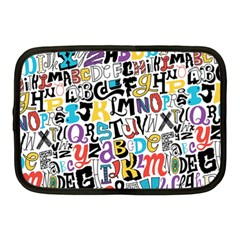 Alpha Pattern Netbook Case (Medium)