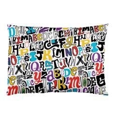 Alpha Pattern Pillow Case
