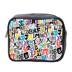 Alpha Pattern Mini Toiletries Bag 2-Side