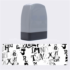 Alpha Pattern Name Stamps