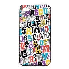Alpha Pattern Apple iPhone 4/4s Seamless Case (Black)
