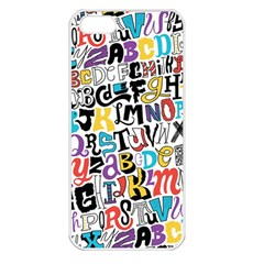 Alpha Pattern Apple iPhone 5 Seamless Case (White)