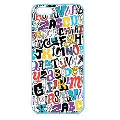 Alpha Pattern Apple Seamless iPhone 5 Case (Color)