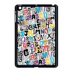 Alpha Pattern Apple iPad Mini Case (Black)