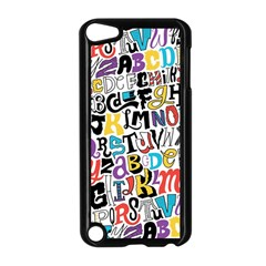 Alpha Pattern Apple iPod Touch 5 Case (Black)