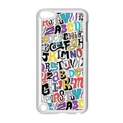 Alpha Pattern Apple iPod Touch 5 Case (White)