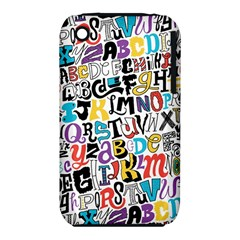 Alpha Pattern Apple iPhone 3G/3GS Hardshell Case (PC+Silicone)