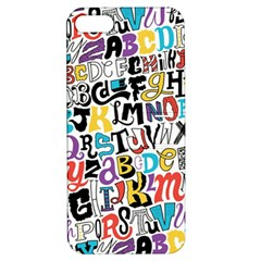 Alpha Pattern Apple iPhone 5 Hardshell Case with Stand