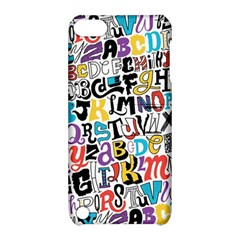 Alpha Pattern Apple Ipod Touch 5 Hardshell Case With Stand