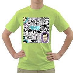 Always Making Pattern Green T-Shirt