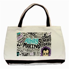 Always Making Pattern Basic Tote Bag