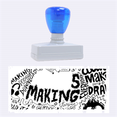 Always Making Pattern Rubber Stamps (large)