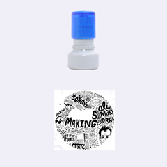 Always Making Pattern Rubber Round Stamps (small)