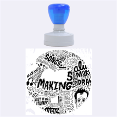 Always Making Pattern Rubber Round Stamps (large)