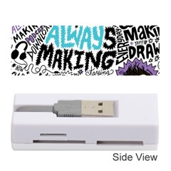 Always Making Pattern Memory Card Reader (stick)