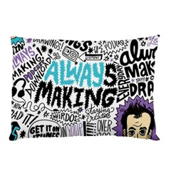 Always Making Pattern Pillow Case (two Sides)