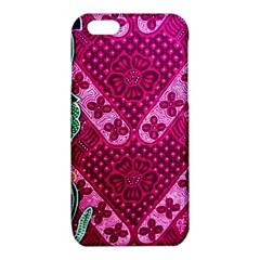 Pink Batik Cloth Fabric iPhone 6/6S TPU Case