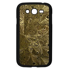 Peacock Metal Tray Samsung Galaxy Grand DUOS I9082 Case (Black)