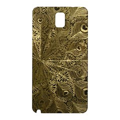 Peacock Metal Tray Samsung Galaxy Note 3 N9005 Hardshell Back Case