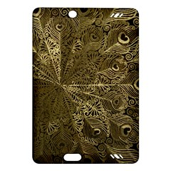 Peacock Metal Tray Amazon Kindle Fire HD (2013) Hardshell Case