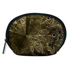 Peacock Metal Tray Accessory Pouches (Medium)