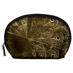 Peacock Metal Tray Accessory Pouches (Large)