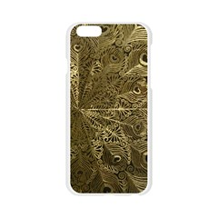 Peacock Metal Tray Apple Seamless iPhone 6/6S Case (Transparent)