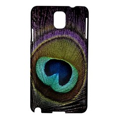 Peacock Feather Samsung Galaxy Note 3 N9005 Hardshell Case