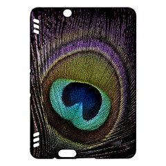 Peacock Feather Kindle Fire HDX Hardshell Case