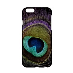 Peacock Feather Apple iPhone 6/6S Hardshell Case