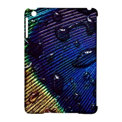 Peacock Feather Retina Mac Apple iPad Mini Hardshell Case (Compatible with Smart Cover)