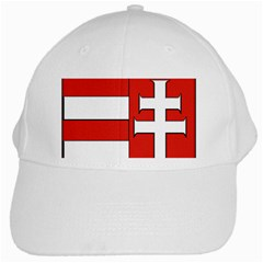 Medieval Coat Of Arms Of Hungary  White Cap