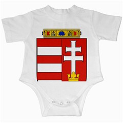 Medieval Coat Of Arms Of Hungary  Infant Creepers