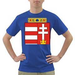 Medieval Coat Of Arms Of Hungary  Dark T Shirt