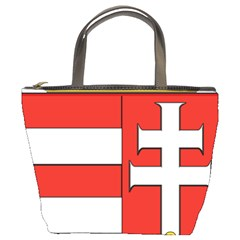 Medieval Coat Of Arms Of Hungary  Bucket Bags