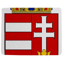 Medieval Coat Of Arms Of Hungary  Jigsaw Puzzle Photo Stand (rectangular)