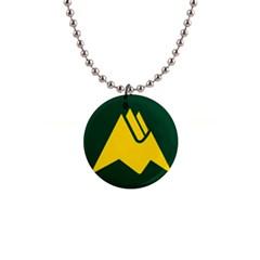 Flag Of Biei, Hokkaido, Japan Button Necklaces
