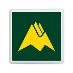 Flag Of Biei, Hokkaido, Japan Memory Card Reader (square)