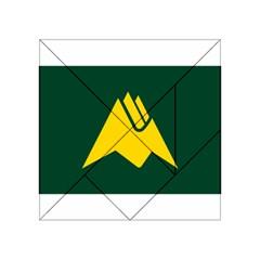Flag Of Biei, Hokkaido, Japan Acrylic Tangram Puzzle (4  X 4 )
