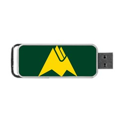 Flag Of Biei, Hokkaido, Japan Portable Usb Flash (two Sides)