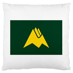 Flag Of Biei, Hokkaido, Japan Standard Flano Cushion Case (two Sides)