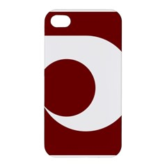 Flag Of Kumamoto Prefecture Apple Iphone 4/4s Hardshell Case