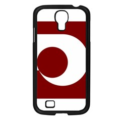 Flag Of Kumamoto Prefecture Samsung Galaxy S4 I9500/ I9505 Case (black)